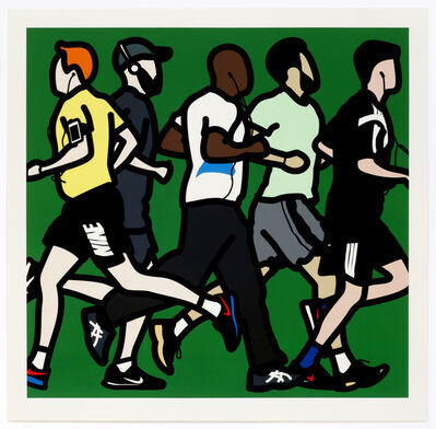 Julian Opie, 'Running Men ', 2016