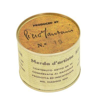 Piero Manzoni, 'Merda d'Artista', 1963