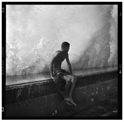 Mark Seliger, 'Seated Boy on Malecón Wall, Havana, Cub', 2012