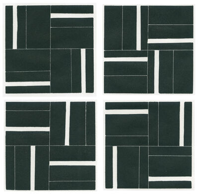 Alan Reynolds, 'Suite of four Woodcuts 2005: Rotation A, B, C, D', 2005