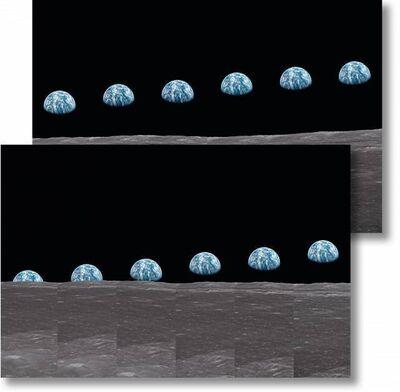 Buzz Aldrin, 'Apollo 11. 'Earthrise Sequence'', 2019