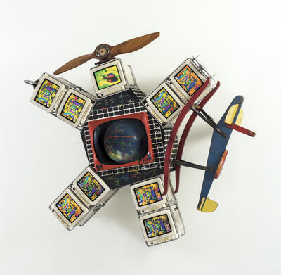 Nam June Paik, 'Spaced out & Spaced in', 1991