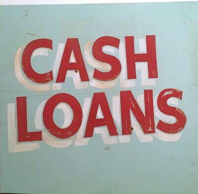 Joe Lotto, 'Cash Loans', 2019