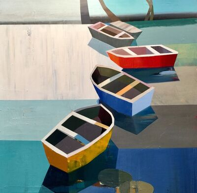 Siddharth Parasnis, 'Boats in the Shallow Water #24', 2018