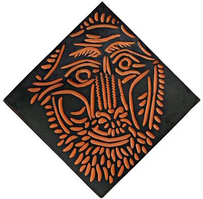 Pablo Picasso, 'Tête de lion', ca. 1968