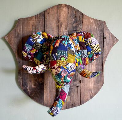 Louis Masai, '« Fauxdermy » - Hang your head - The elephant', 2019