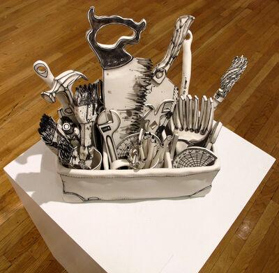 Katharine Morling, 'Toolbox - porcelain pieces all handmade', 2017