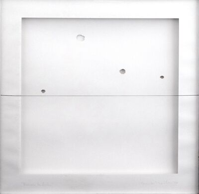 Anna Maria Maiolino, 'Em cima da linha / Over the line', 1976 -2001
