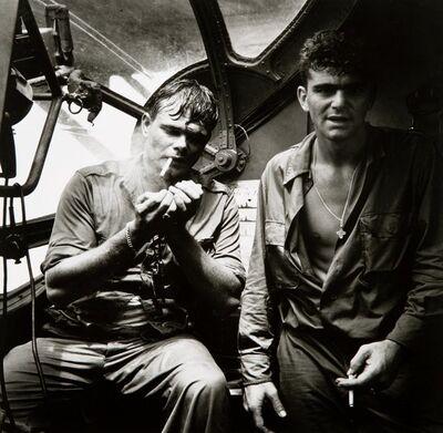 Horace Bristol, 'Rescued Airmen, Smoking', 1944