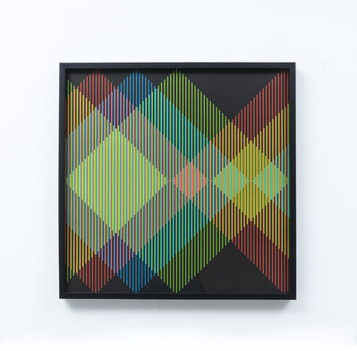 Carlos Cruz-Diez, 'couleur additive (additive color)', 2013