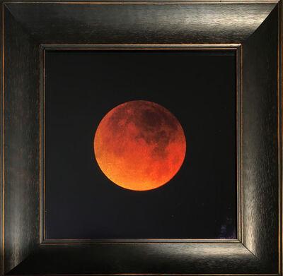 Kate Breakey, 'Lunar Eclipse, January 2018, Tucson, AZ (Blood Moon)'
