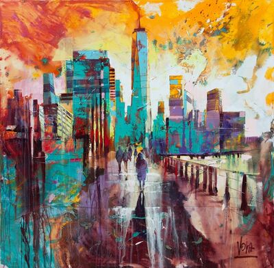 Voka, 'NYC, 150x150 cm', 2019