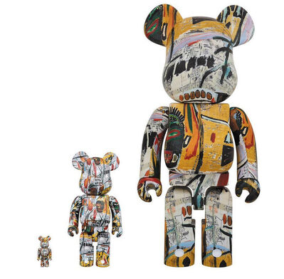 Jean-Michel Basquiat, 'Jean-Michel Basquiat 100% + 400% + 1000% Bearbrick Set', 2017