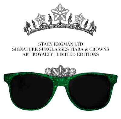 Stacy Engman, 'Sunglasses-Crown Emerald & Diamond Dust .50 CT Real Diamond Dust (diadem), 3 CT Emerald Dust', 2019