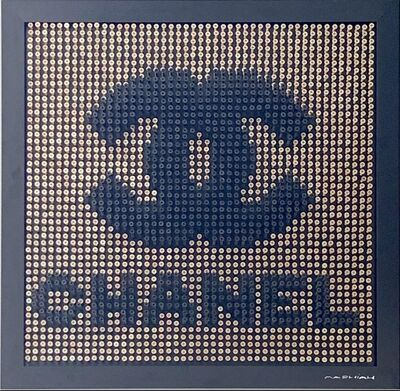Efraim Mashiah, 'Chanel - Gold Background', 2019