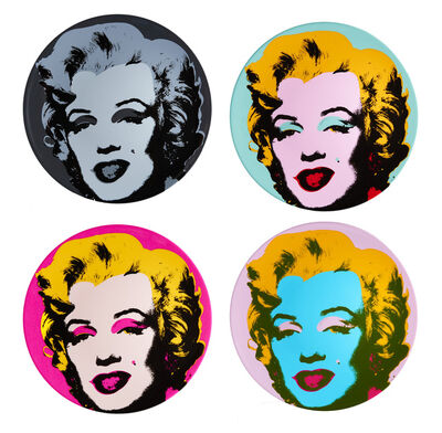 Andy Warhol, 'Marilyn Plate Set', 2016