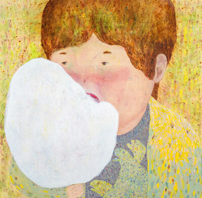 LO Chiao-Ling, 'Eating Cotton Candy', 2017
