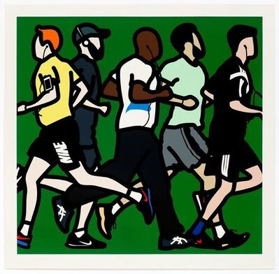 Julian Opie, 'Runners. Running Men.', 2016