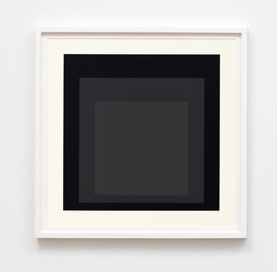 Josef Albers, 'Homage to the Square: Edition Keller Ii', 1970