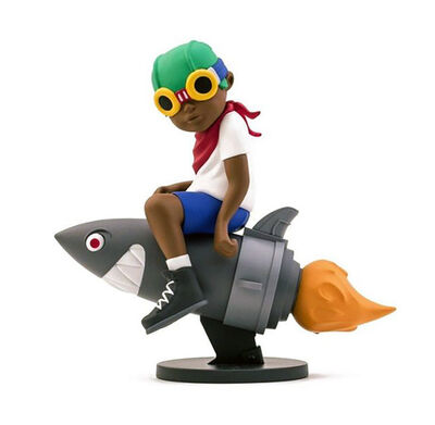 Hebru Brantley, ' Hebru Brantley Flyboy (Beyond the Beyond) ', 2018