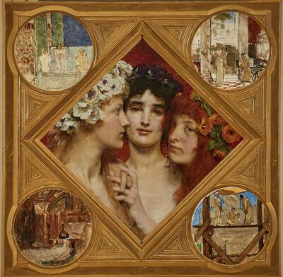 Sir Lawrence Alma-Tadema, 'The Three Graces'