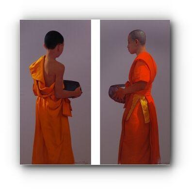 Pajonyut Puvijarn, '2 Monks ', 2017