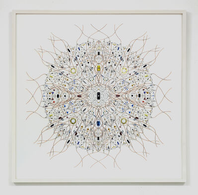 Leonardo Ulian, 'technological mandala 52 _ solaris', 2015