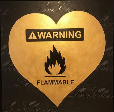 Rubem Robierb, 'Flammable', 2015