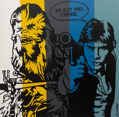 Javier Andrés, 'Chewie and Solo', 2017