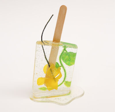 Betsy Enzensberger, 'Sparkly Yellow Flower Popsicle', 2019