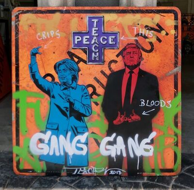 Teachr, 'Gang Gang', 2018