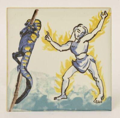 Paula Rego, 'Mulher Com Salamandra', 1989