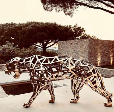 Richard Orlinski, 'Carved Panther', 2018