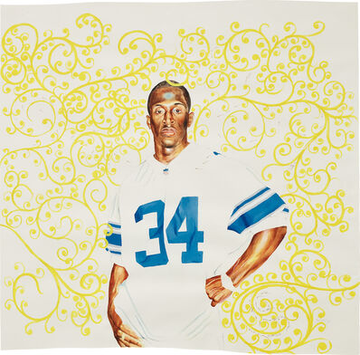 Kehinde Wiley, 'Passing/Posing (Surd Area)', 2003