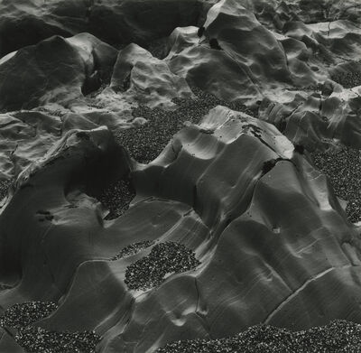 Brett Weston, 'Rocks, Pebble Beach', 1980