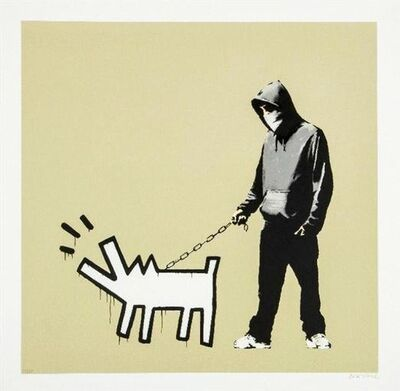Banksy, 'Choose Your Weapon (Khaki)', 2010