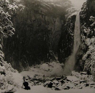 Arthur Tress, 'Violin on snow', 1970