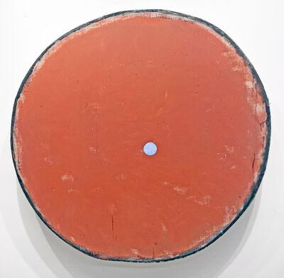 Otis Jones, 'Red Oxide with Blue Circle', 2021