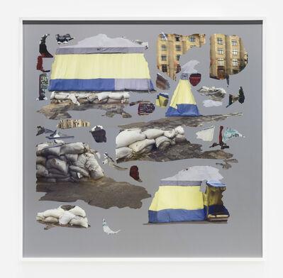 Hito Steyerl, 'Tent/Texture II, Kharkiv', 2015