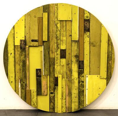 Branislav Nikolić, 'City Mirror (Yellow)', 2016