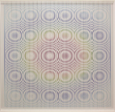 Alberto Biasi, 'Gocce Primavera', 1992