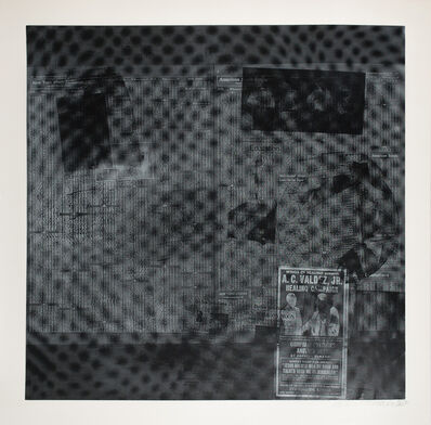 Robert Rauschenberg, 'Features from Currents No. 51', 1970