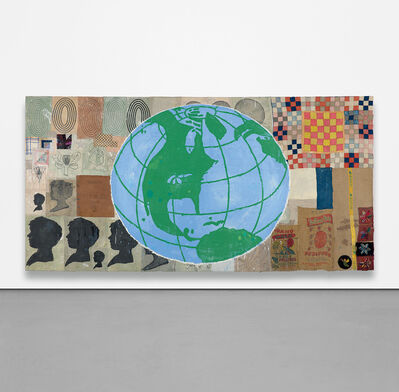 Donald Baechler, 'Memory and Illusion (Globe)', 1998