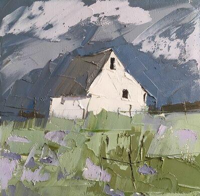 Sandra Pratt, 'White House, Lavendar Field'