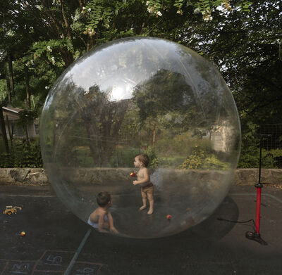 Julie Blackmon, 'Bubble', 2020