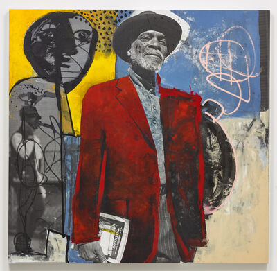 Etienne Rougery-Herbaut, 'Man with the Black Hat (Collab)', 2017-2019