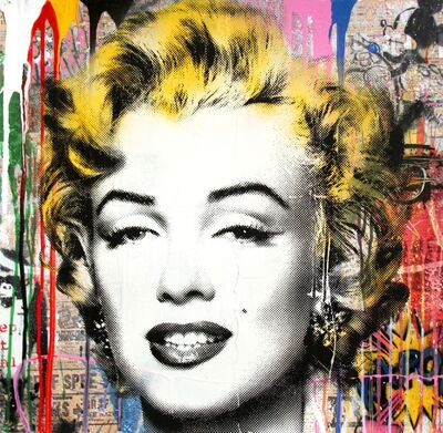 Mr. Brainwash, 'Marilyn', 2019