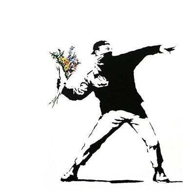 Banksy, 'Anarchist - Miami Vices', 2008