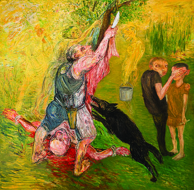 Mehmet Güleryüz, 'Homage to Titian's Marsyas', 2015