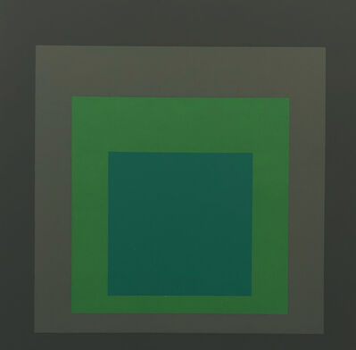 Josef Albers, 'Josef Albers Homage to the Square screen-print 1977 ', 1977